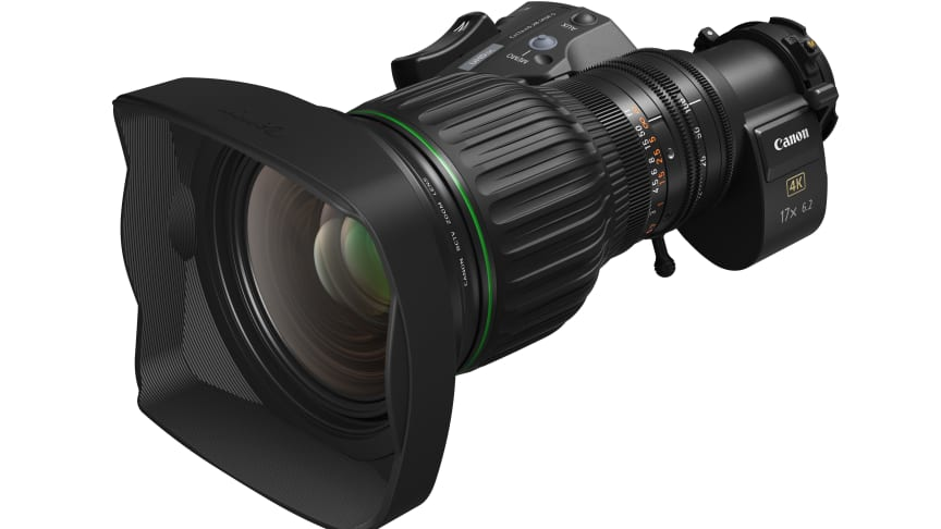 Canon announces the CJ17ex6.2B – a 4K-capable BCTV lens with wide focal length range
