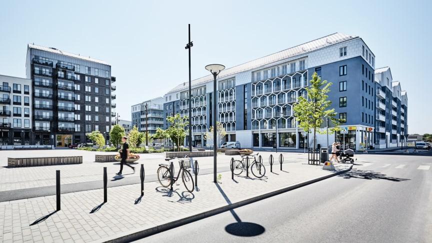 Bild: Paraden, ritad av Kod Arkitekter, foto Måns Berg