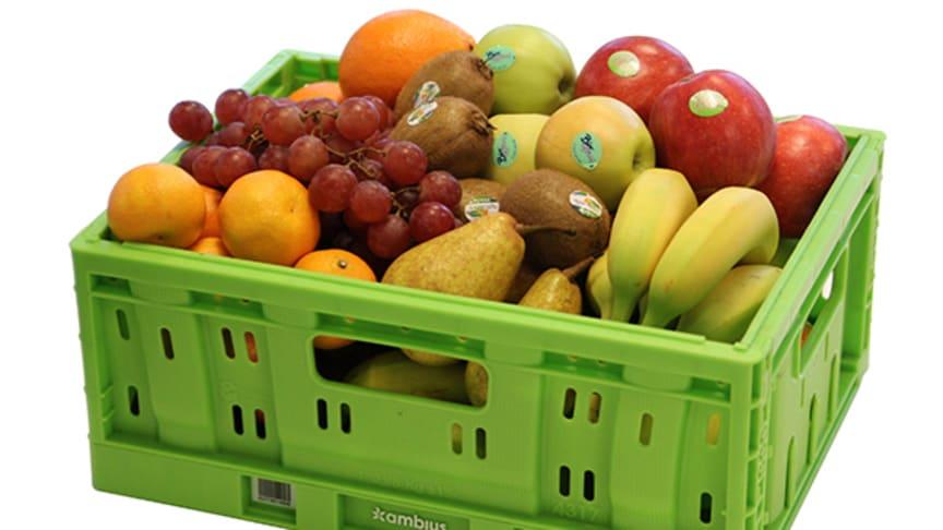 Ambius certifierade av SMAK – garanterar ekologisk frukt i korgarna