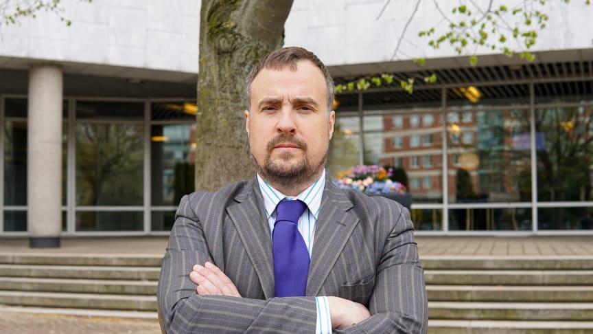 Magnus Olsson (SD), oppositionsråd för Sverigedemokraterna i Malmö stad