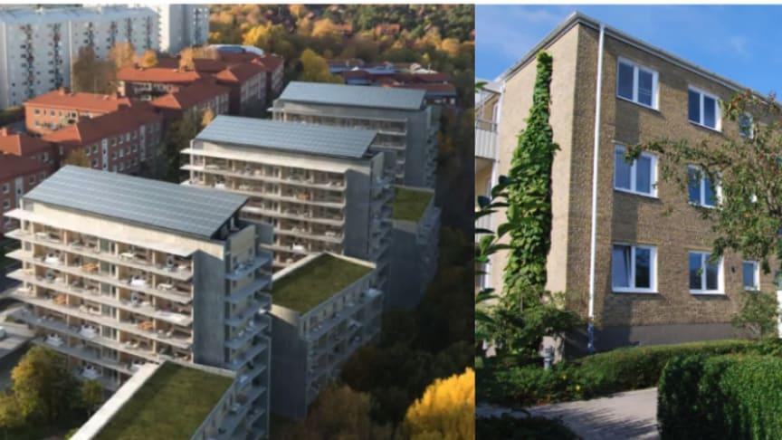 Riksbyggens Brf Viva i Göteborg och Riksbyggen Brf Tornväktaren IV i Ystad har båda nominerats till Solenergipriset som delas ut av Svensk Solenergi.