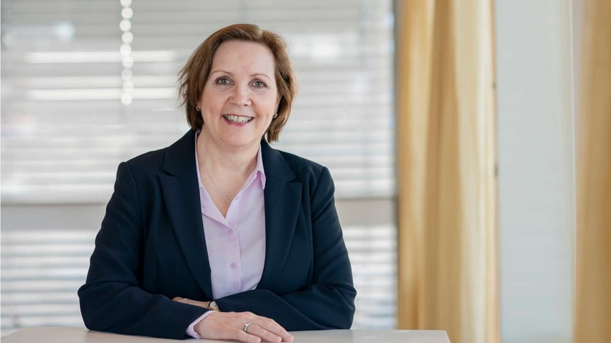 Konsernsjef Grethe Bergly er stolt over resultatet for 2020. Foto: Erik Burås