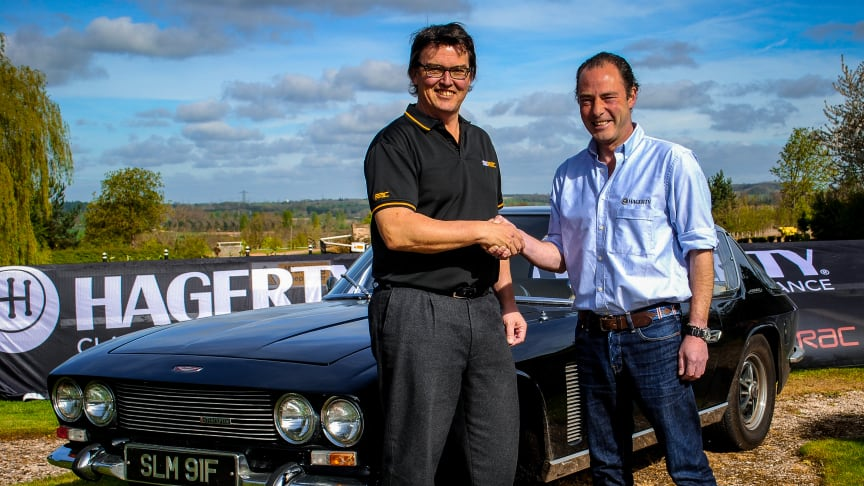 Left to Right: Richard Fuller, head of RAC Commercial Sales with Angus Forsyth, Managing Director at Hagerty
