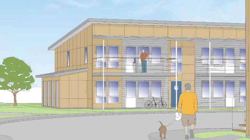 Egnahemsbolaget bygger nya bostäder i Bergsjön