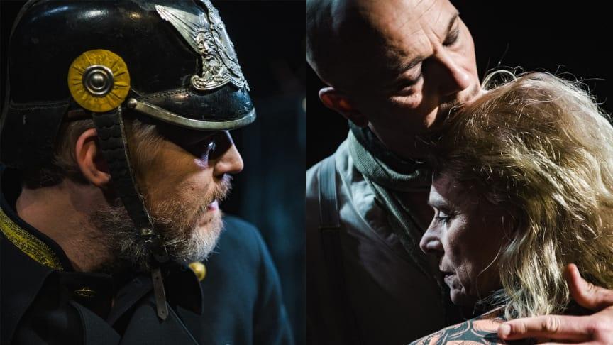 Teater Västernorrlands Dödsdansen har digital premiär den 9 april. Foto: Lia Jacobi
