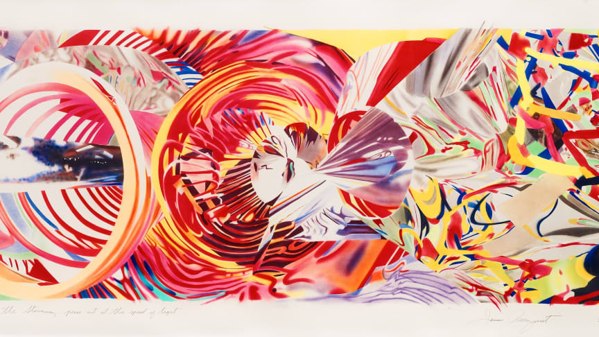 James Rosenquist 'The Stowaway Peers out at the Speed of Light', 2001