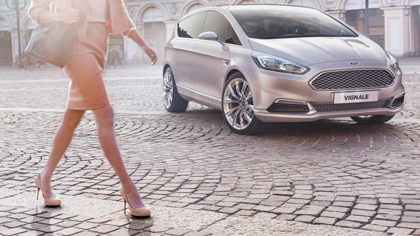 Ford presenterar konceptet S‑MAX Vignale och Vignale Lounge på världens ledande möbelmässa i Milano
