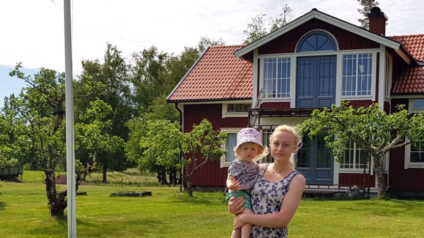 När Anni Osbäck och hennes man studerat klart i Göteborg flyttade de tillbaka till Ljungby.