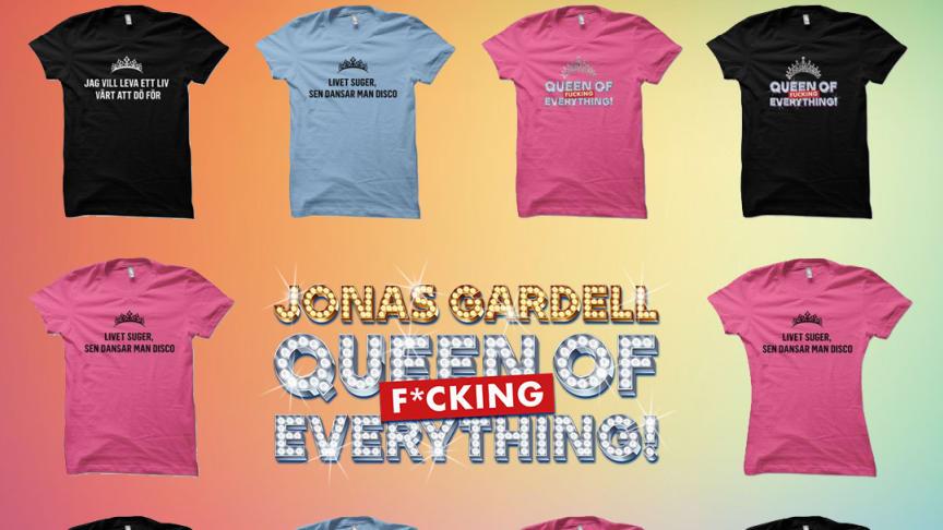 Jonas Gardells ord går rakt in i hjärtat   - och på tröjor!