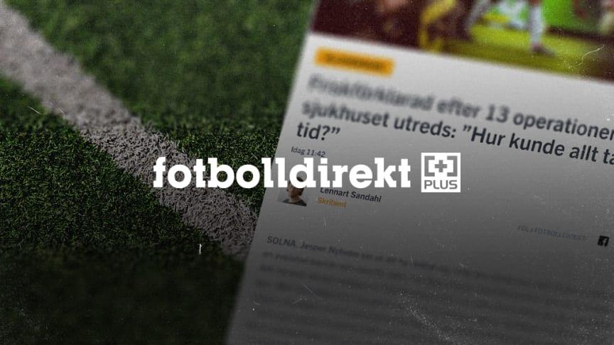 Idag lanseras en ny plustjänst på Fotbolldirekt.se