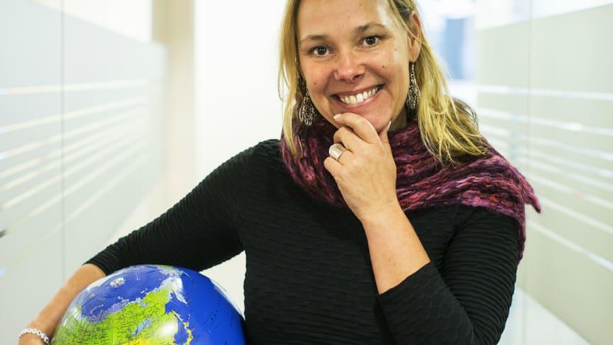 Charlotta Szczepanowski, chef för hållbar utveckling på Riksbyggen
