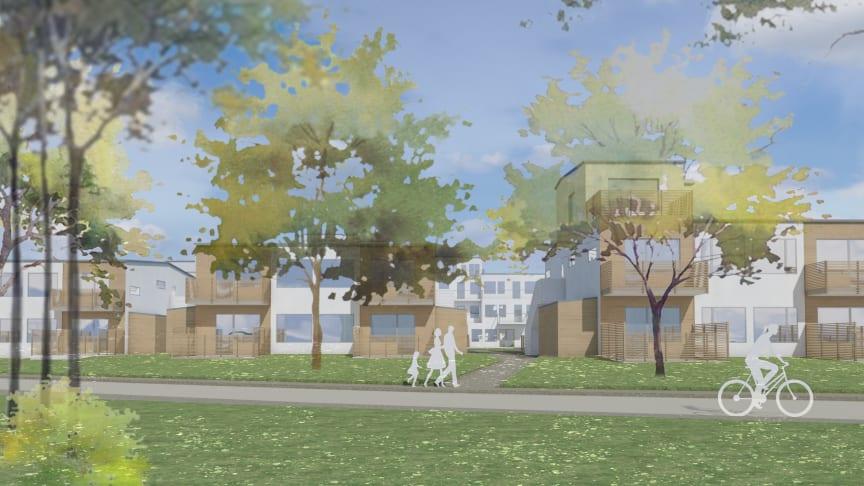 Ny detaljplan för gamla indrottsplatsen i centrala Nykvarn