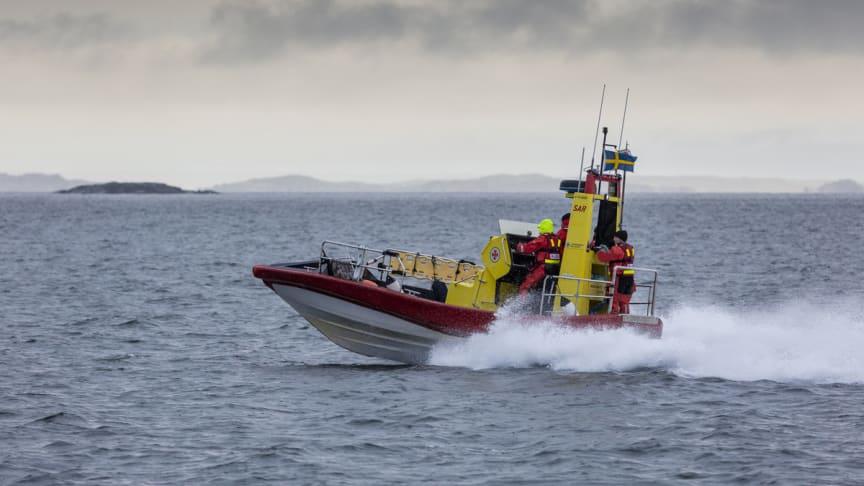 Den nya stationen kommer inom kort att namnge en båt i Gunnel Larson-klassen (Båten på bilden är en annan båt av samma typ).