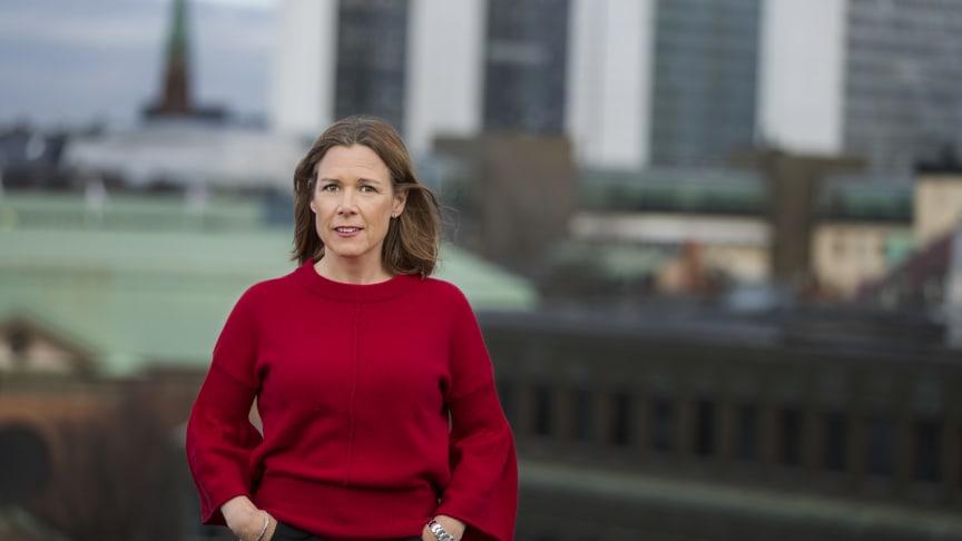 """""""Alla bolag kommer inte att vara en del av framtiden"""", säger Åsa Wallenberg vd SPP Fonder."""