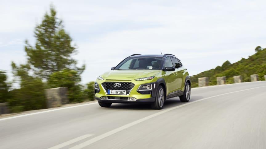 Hyundais KONA er en perfekt SUV for norske forhold