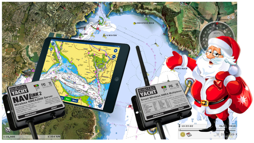 Everything to get your tablet or PC connected on board from Digital Yacht