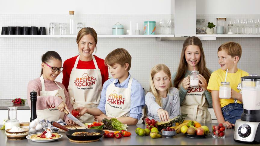 Dags att släppa loss kreativiteten i köket och trolla med rester. Missa inte årets mattävling Resterkocken.