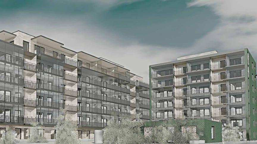 Riksbyggen planerar för 53 seniorbostadsrätter vid Boulognerparken i Skövde