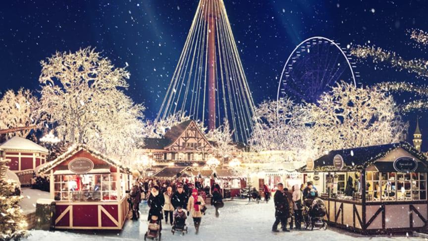 Jul på Liseberg. Foto: Liseberg