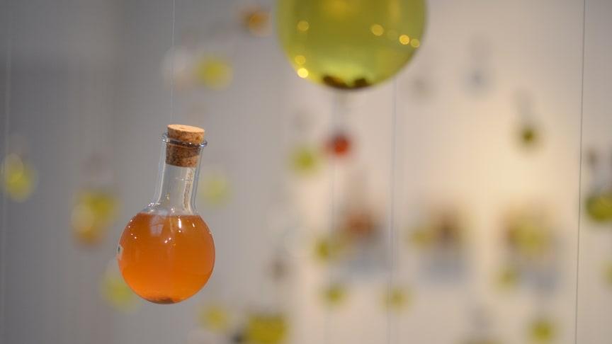 Utställningen Hypersea tas fram i samarbete med miljökonstnären Jeanette Schäring och invånarnas vatten