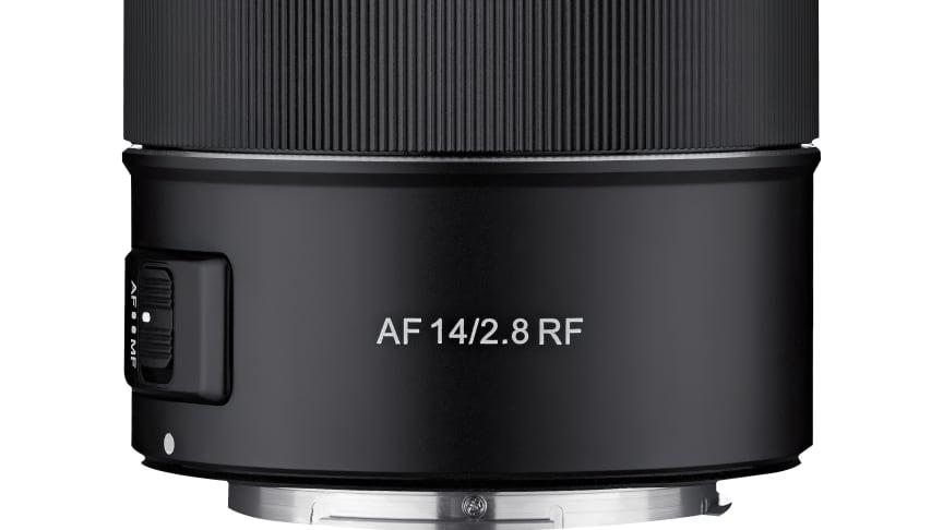 Das erste 14 mm Ultraweitwinkelobjektiv mit Autofokus für Canon EOS R und EOS RP kommt von Samyang