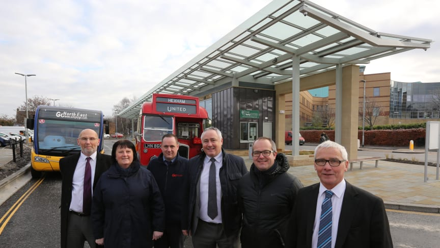 Hexham's new bus station is just the ticket