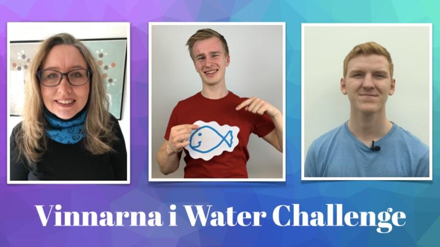 Hållbara vattenlösningar prisade i innovationstävling!