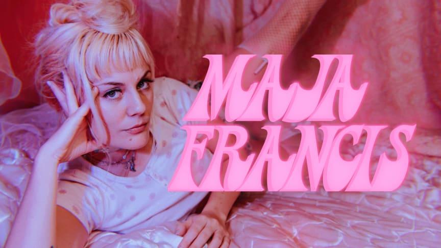 Albumaktuella och kritikerrosade Maja Francis till Pustervik Live 5 november