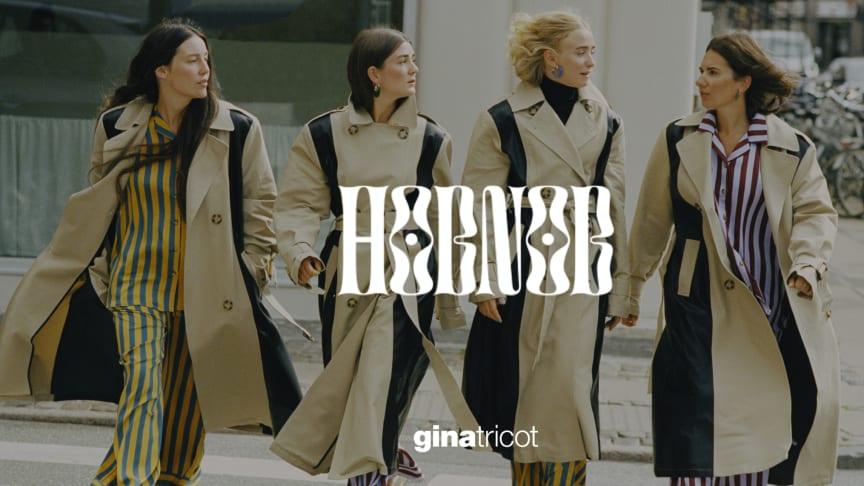 Hobnob X Gina Tricot - nu släpps höstens weekend capsule i nytt designsamarbete med det digitala modemagasinet.