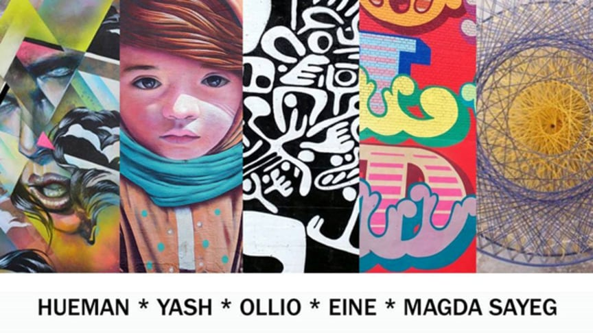 Street art festival ARTSCAPE 2016 to Gothenburg