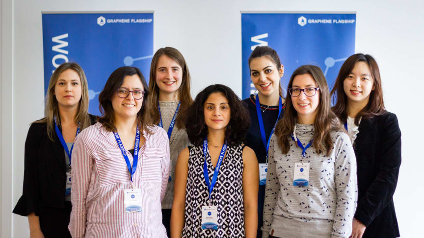 Student Grant recipients for Women in Graphene 2019