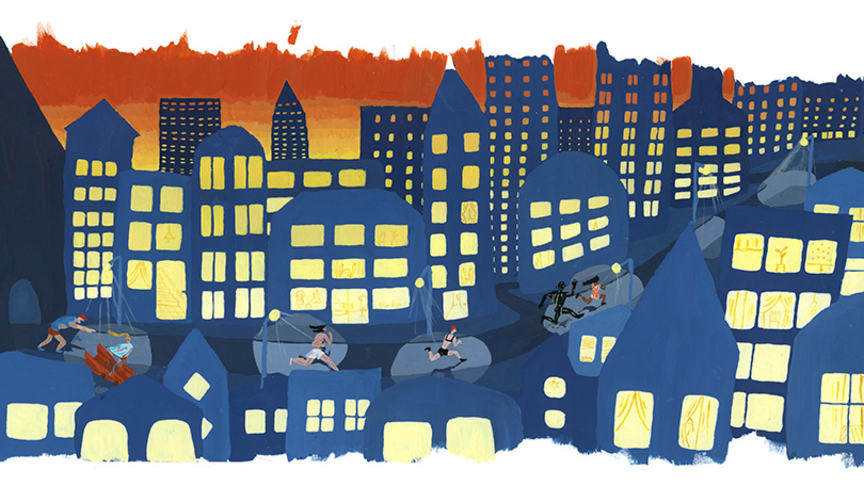 Under Littfest tar Karin Cyrén emot priset för årets bästa svenska bilderbok för sin bok Maraton. Originalbilder och skisser presenteras i en utställning på Bildmuseet. Vernissage under Art Friday med Littfest 13 mars. Konstnären medverkar.