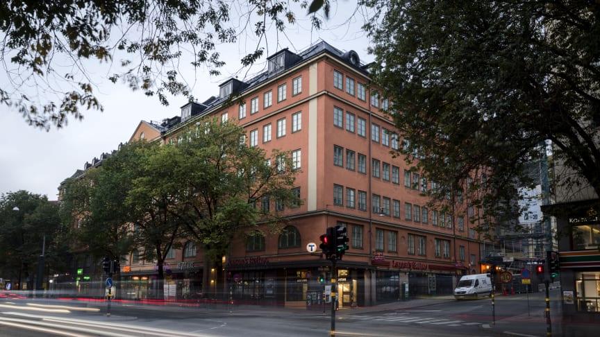 Magasinet på Sveavägen 53  i Stockholm är nu fullt uthyrt. Foto: Bonnier Fastigheter