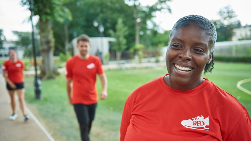 RED January has helped over 150,000 people across the country to get active