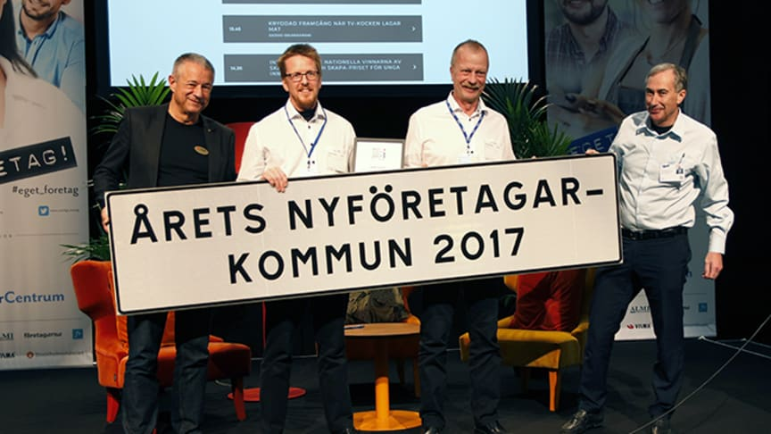 Askersund blev Årets nyföretagarkommun 2017.