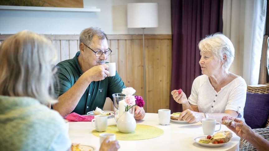 Tisdagen 3 november öppnar Träffpunkterna för seniorer i Kungsbacka kommun igen.