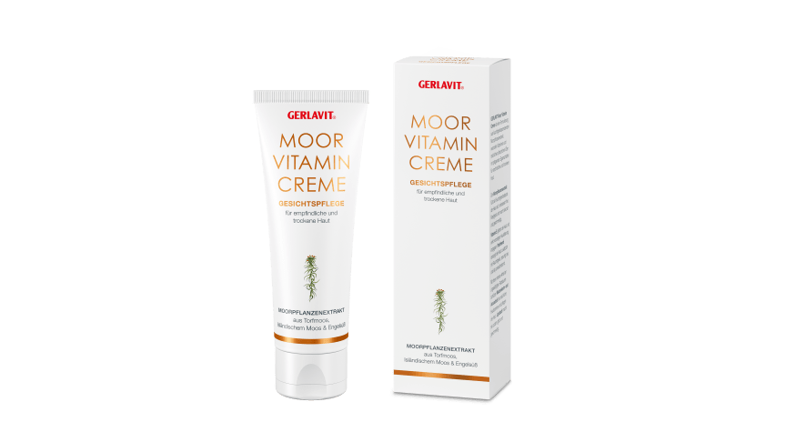 The extract from three moor plants, vitamin E and plant oils care for the facial skin, making it supple, smooth and velvety soft. Image: Eduard Gerlach GmbH