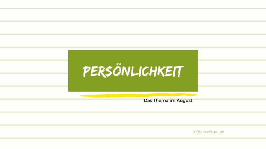 Mindset, Marke Ich und typische Denkfehler: Im August steht die Persönlichkeit als Erfolgsfaktor im Fokus unserer Webinare.