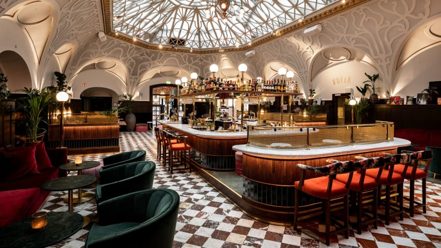The Vault Hotel in Helsingborg: Built on an authentic bank vault from the beginning of the last century, the Vault Hotel is steeped in great design.