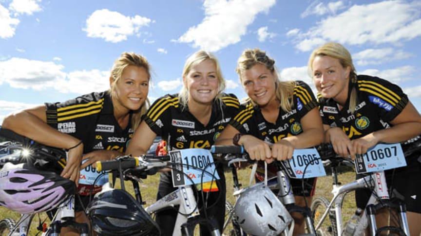 Mer än 2400 tjejer deltar i CykelVasan