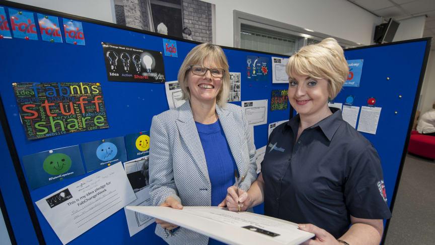 Health minister talks to Northumbria students