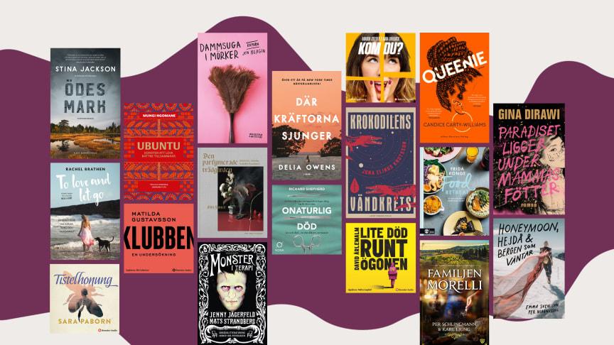 20 böcker du bara måste läsa under 2020
