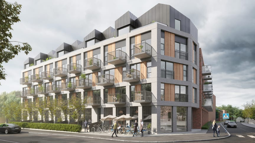 Bygget av Brf ØF19 i Malmö kommer att påbörjas inom kort.