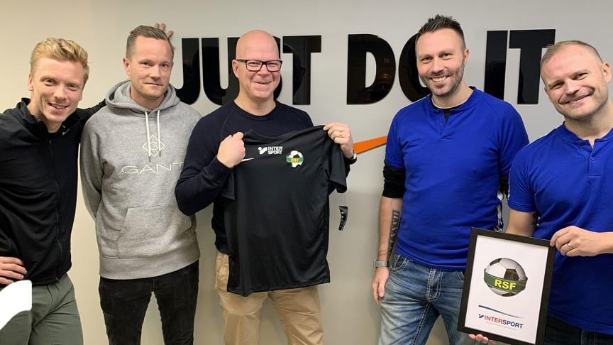 Rönninge Salem Fotboll byter partner: Valet föll på Intersport