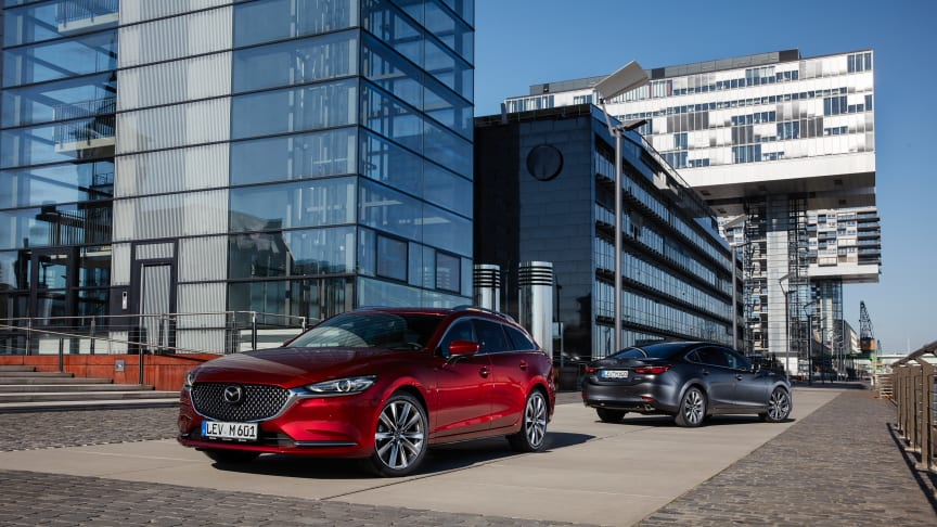 Nya priser för uppdaterade Mazda6