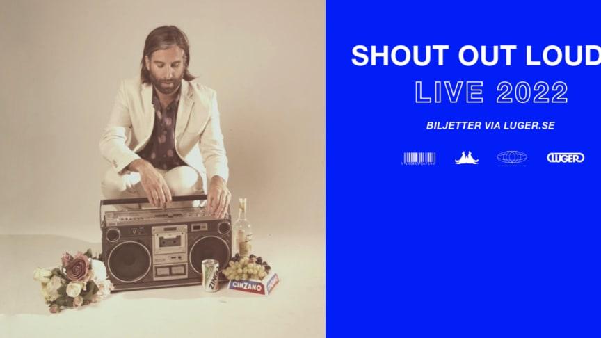 Shout Out Louds spelar i Stockholm den 17 mars 2022