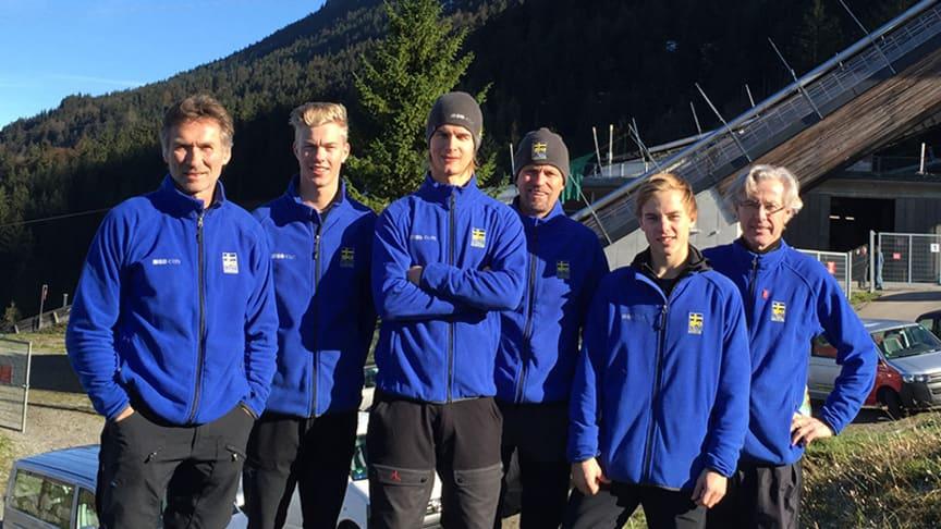 Anders Daun ny tränare – träffa svenska backhoppningslandslaget i Falun
