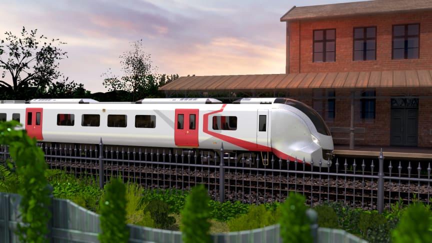 Hitachi Rail regional battery train (AT200)