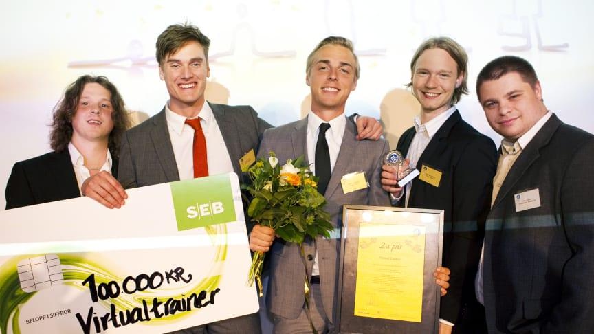Halmstadbor pristagare i Venture Cup Väst