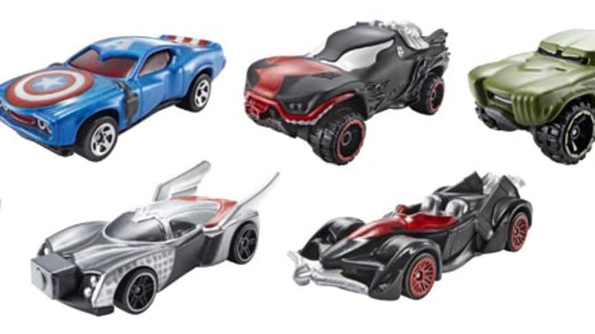 Marvel 1:64 Character Car Sortiment